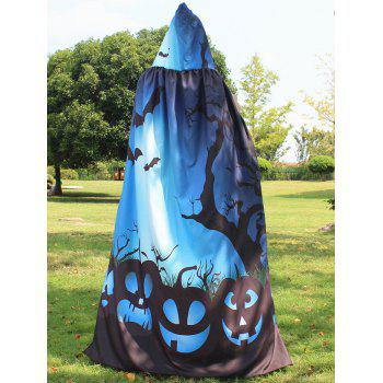 Halloween Printed Magic Cloak