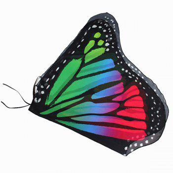 Colorful Butterfly Wings Shape Scarf -  COLORFUL GEOMETRIC