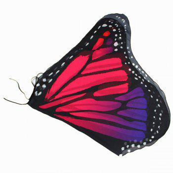 Colorful Butterfly Wings Shape Scarf -  TUTTI FRUTTI