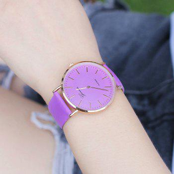 Color Change In The Sunlight Minimalist Watch -  PURPLE