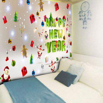 Santa Claus Letter Print Wall Art Tapestry - COLORFUL W79 INCH * L59 INCH