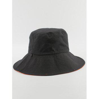 Chapeau de seau réversible simple - Saumon