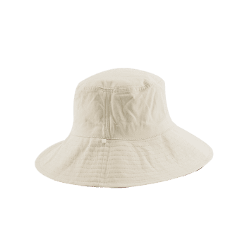 Chapeau de seau réversible simple - Blanc