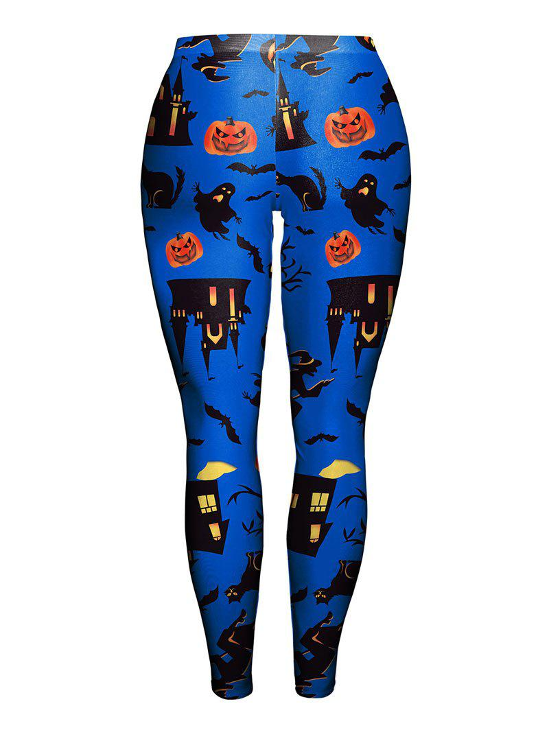 Leggings Halloween Halloween - Bleu XL
