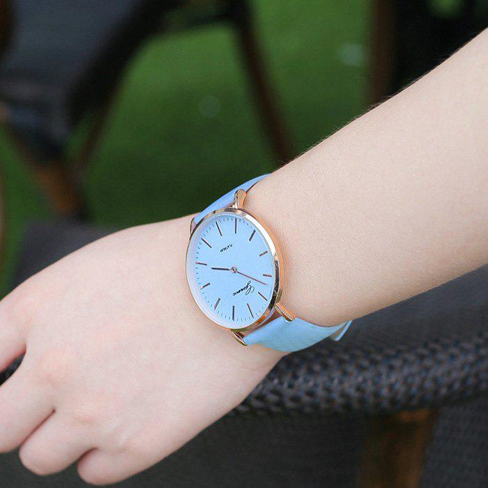 Color Change In The Sunlight Minimalist Watch - BLUE