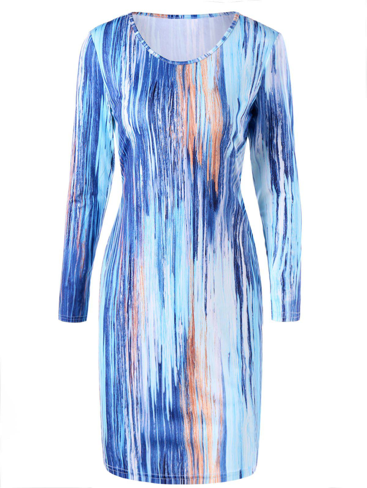 Robe Bodycon - multicolorcolore XL