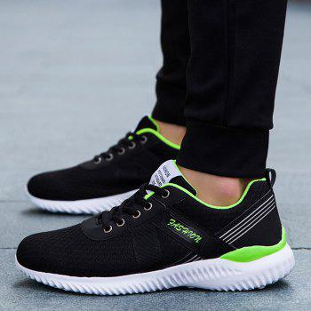 Tie Up Mesh Breathable Sneakers - 43 43
