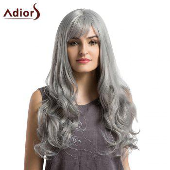 Adiors Long Layered See-Trough Fringe Curly Synthetic Wig - GRANNY HAIR GRANNY HAIR