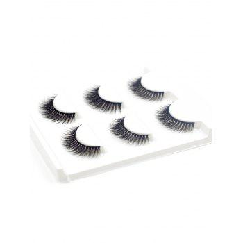 3 Pairs Natural Soft Long Extension Fake Eyelashes -