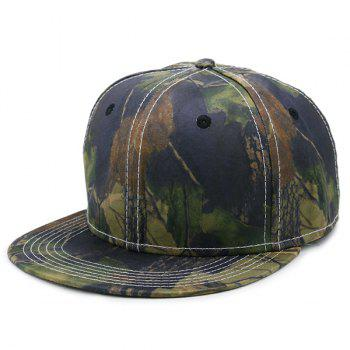 Wild Jungle Printed Baseball Cap - ARMY GREEN ARMY GREEN