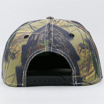 Wild Jungle Printed Baseball Cap -  ARMY GREEN