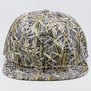 Wild Jungle Printed Baseball Cap -  LIGHT GREEN