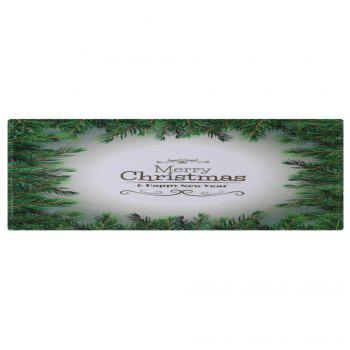 Merry Christmas Pattern Indoor Outdoor Area Rug - COLORMIX W24 INCH * L71 INCH