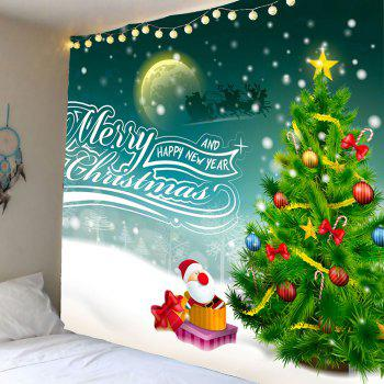 Christmas Graphic Pattern Wall Decor Tapestry - COLORFUL COLORFUL