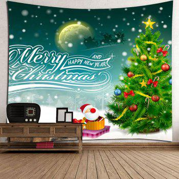 Christmas Graphic Pattern Wall Decor Tapestry - W79 INCH * L71 INCH W79 INCH * L71 INCH