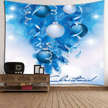 Balloons Printed Christmas Wall Decor Tapestry - W79 INCH * L71 INCH W79 INCH * L71 INCH