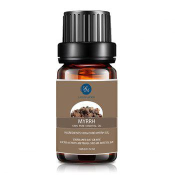 4 Bottles Myrrh Orange Thyme Bergamot Essential Oil -  multicolor