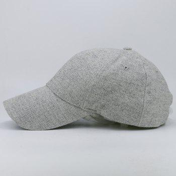 Outdoor Wave Stripe Pattern Baseball Hat - GRAY