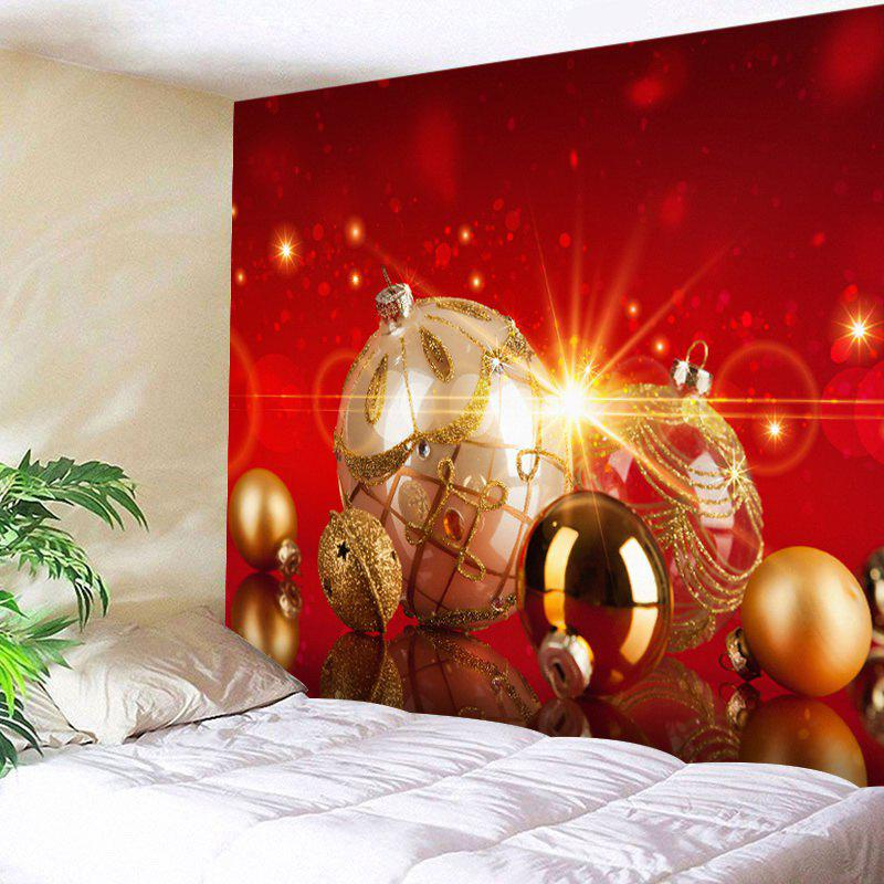 Christmas Baubles Print Tapestry Wall Hanging Decor 1 by o 2nd короткое платье