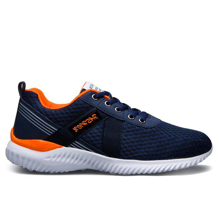 Tie Up Mesh Breathable Sneakers - JACINTH 39
