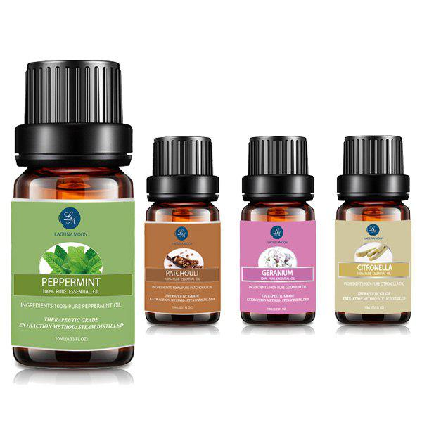 Top 2 Citronella Geranium Essential Oil Set - multicolor