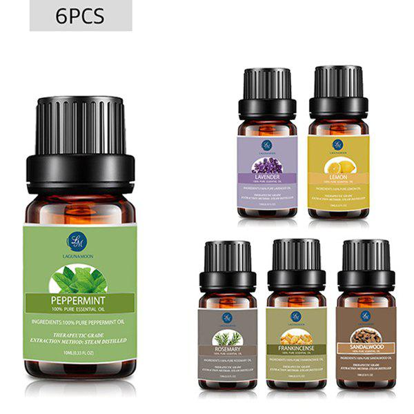 6 Bottles Peppermint Lavender Lemon Rosemary Frankincense Sandalwood Essential Oil Set the best peppermint oil by gopure mentha piperita 100% pure peppermint essential oil therapeutic steam distilled grade a with glass dropper undiluted with no fillers no alcohol or other additives natural insect repellent peppermint oil