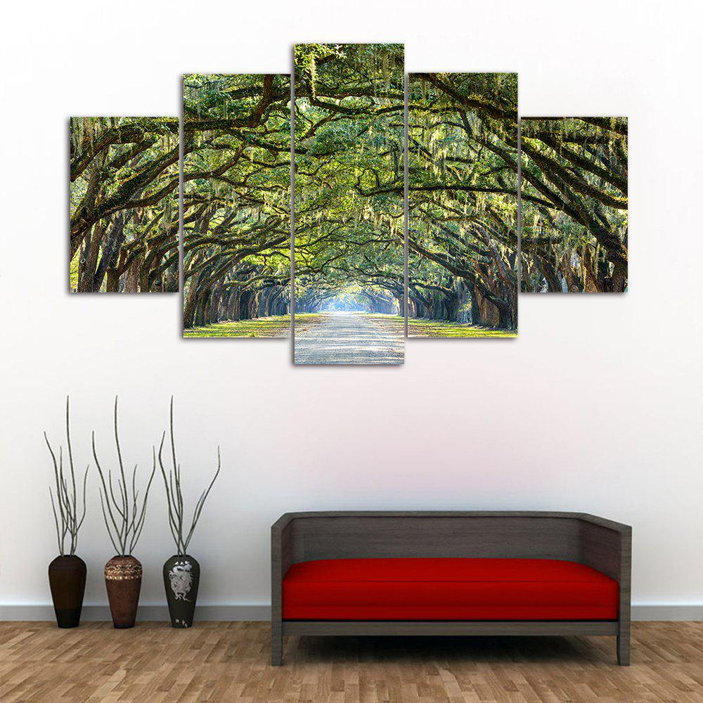 Forest Avenue Print Unframed Canvas Paintings maple forest pattern unframed decorative canvas paintings