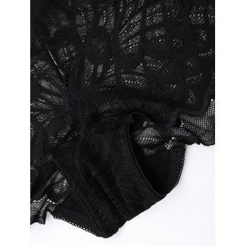 Full Coverage Lace Panties - ONE SIZE ONE SIZE