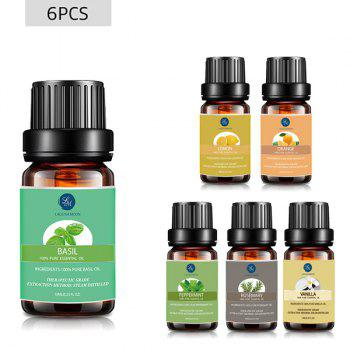 6 Bottles Encouraging Blend Essential Oil Set - MULTI multicolor