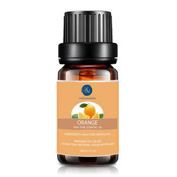 6 Bottles Cinnamon Clove Eucalyptus Geranium Orange Rosemary Essential Oil Set - multicolor