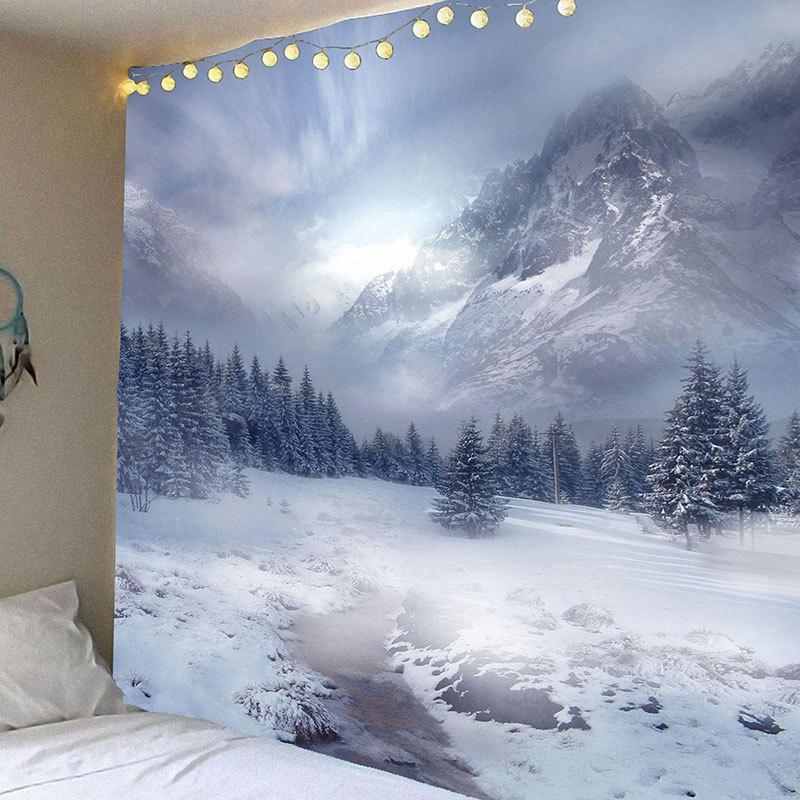 Snow Mountain Printed Waterproof Wall Art Tapestry газовая колонка roda jsd20 a5 atmo snow mountain ут000010056