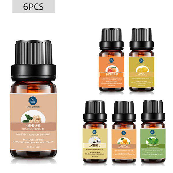 6Pcs Uplifting Blend Essential Oil Set - multicolor