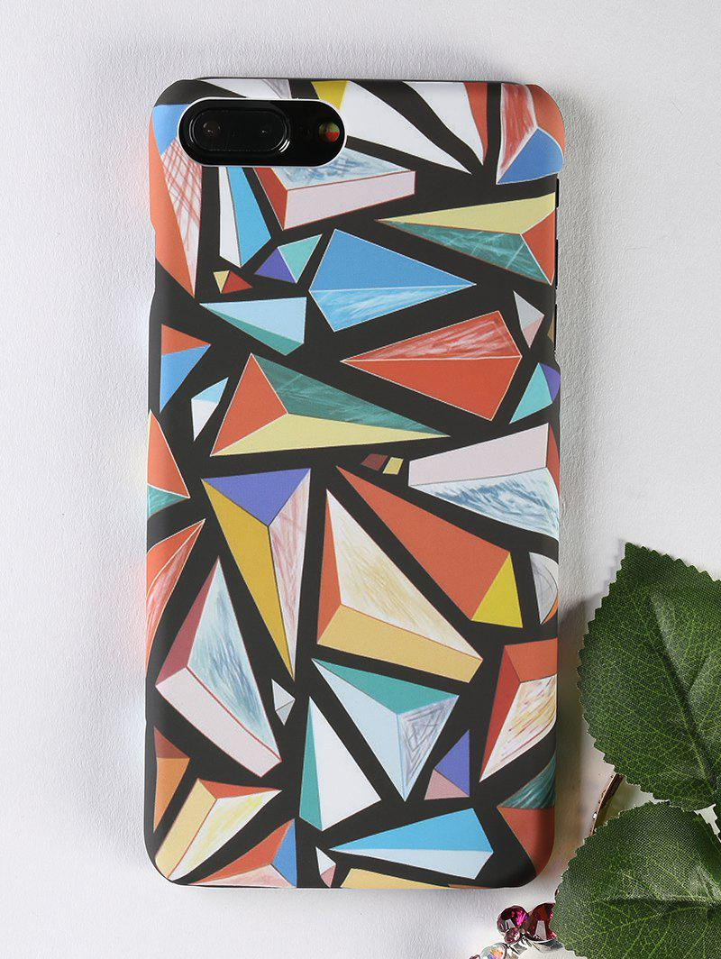Colorful Geometric Pattern Phone Cover Case For Iphone - COLORMIX FOR IPHONE 7 PLUS