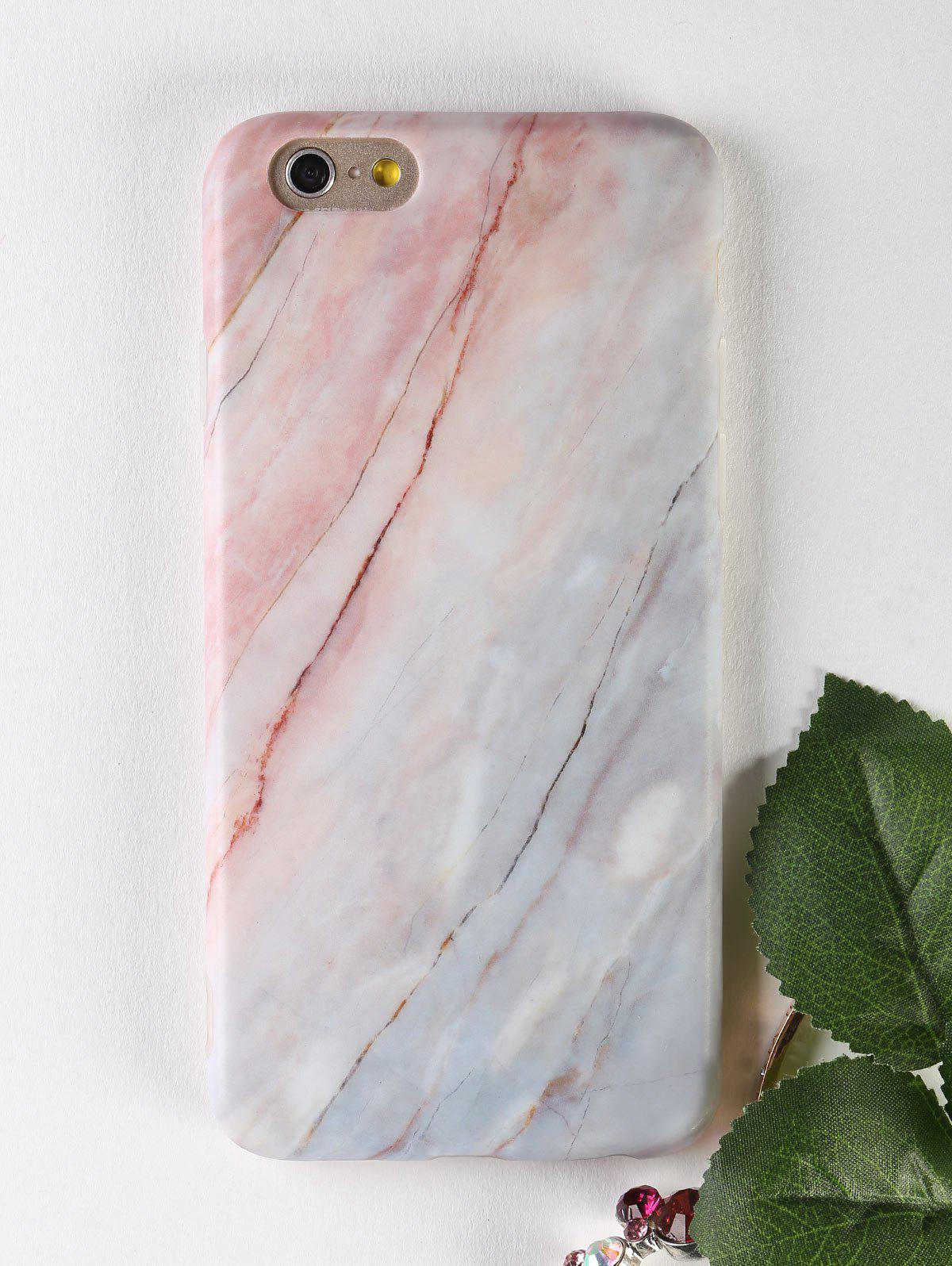 Marble Pattern Soft Phone Cover For Iphone - COLORMIX FOR IPHONE 6 / 6S