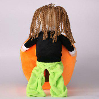 Pet Dog Change Clothes Puppy Pumpkin Costume - L L
