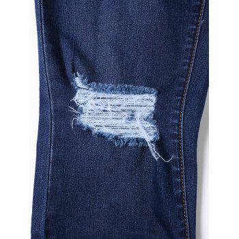 Cat's Whisker Ripped Jeans with Pockets - M M