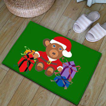Flannel Thickening Christmas Beer Gift Area Rug - W20 INCH * L31.5 INCH W20 INCH * L31.5 INCH