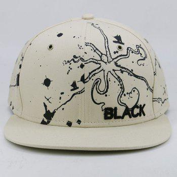 Outdoor Octopus Anime Pattern Baseball Cap - KHAKI