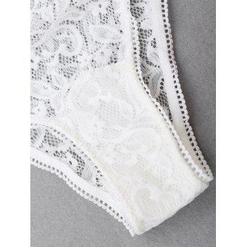 High Waist Sexy Lace Panties - S S