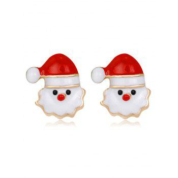 Christmas Santa Tiny Stud Earrings