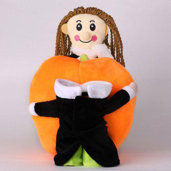 Pet Dog Change Clothes Puppy Pumpkin Costume - BRILLIANT GREEN BRILLIANT GREEN