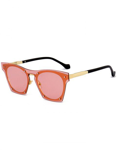 863364b156 2019 Vintage Metal Frame UV Protection Pilot Sunglasses In ORANGE ...