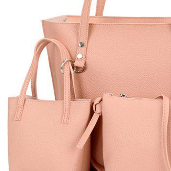 3 Pieces Shoulder Bag Set -  PINK