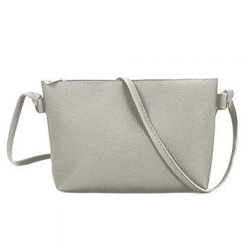 3 Pieces Shoulder Bag Set -  LIGHT GRAY