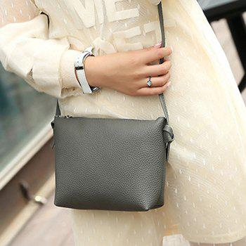 3 Pieces Shoulder Bag Set -  DEEP GRAY