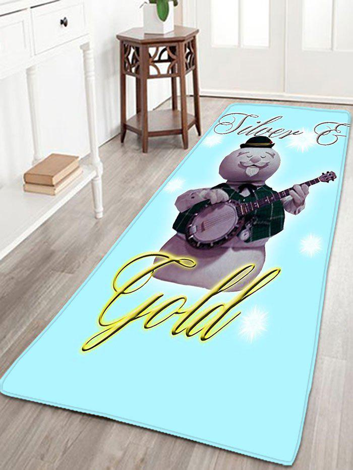 Christmas Snowman Skidproof Flannel Thin Bath Mat flannel skidproof bath rug with butterfly print