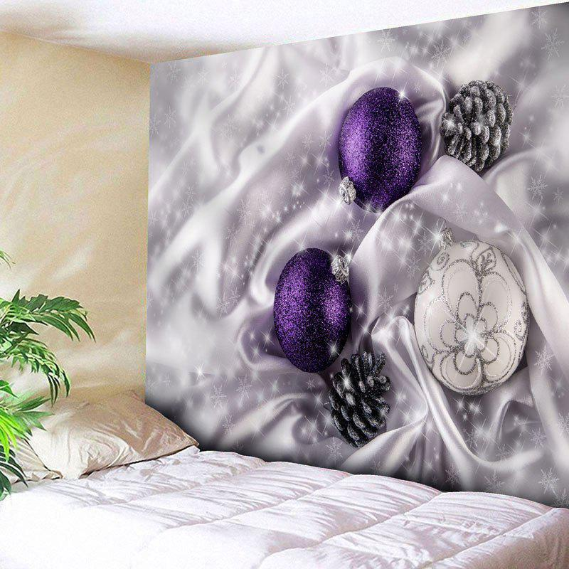Wall Decor Christmas Ball Pattern Tapestry christmas snowman pattern wall decor tapestry