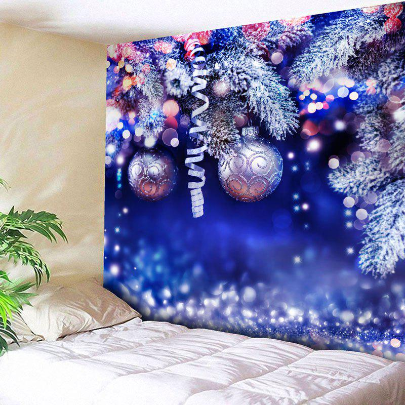 Wall Hanging Christmas Ball Pattern Tapestry waterproof merry christmas graphic pattern wall hanging tapestry