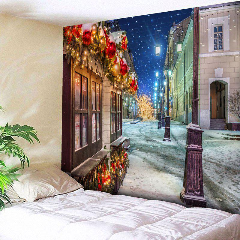 Christmas Street Print Wall Art Tapestry ocean jellyfish print throw wall art tapestry
