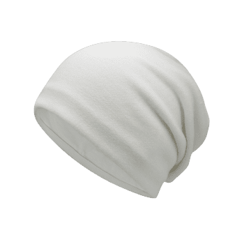 Autumn Plain Knit Hat - OFF WHITE
